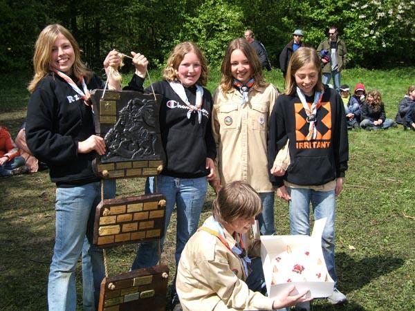 De Nul Nul Zevens's, Scouting De 4-Ambachten, © Xrizzz