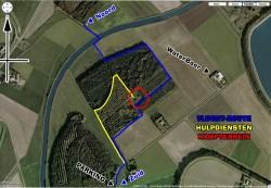 Omgeving ZePaKa terrein (satelliet)