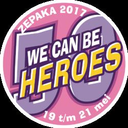 badge ZePaKa 2017 - editie 50