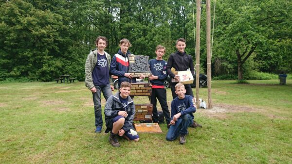 Skoempert, Scouting 't Jagertje - Hulst - verkenners, © Auke Visman
